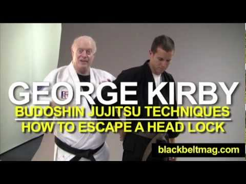 Jujitsu Techniques: George Kirby Shows You Budoshin Jujitsu Moves for Escaping a Head Lock Image 1