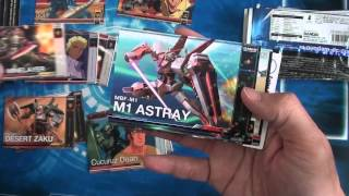 Gundam Duel Company Booster 01 unboxing
