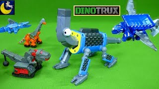 NEW Dinotrux Supercharged Toys Talking Otto Wrenches Glider Flying Ton Ton Skya Ty Rux Diecast Toys
