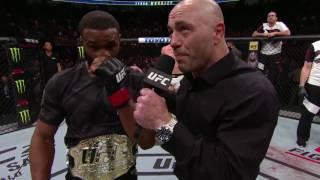 UFC 209: Tyron Woodley & Stephen Thompson Octagon Interviews