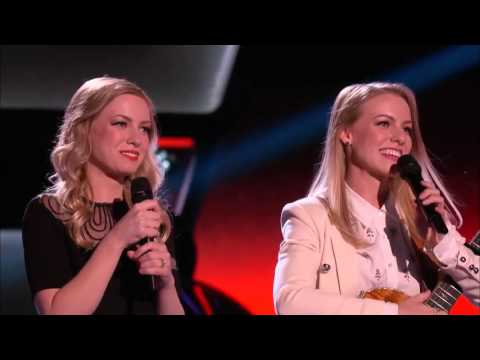 The Voice 2015 Blind Audition   Andi and Alex Thank You