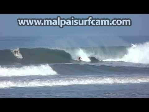 Surfing Mal Pais, www malpaisurfcam com 07 02 15 Santa Teresa Costa Rica