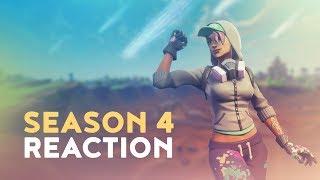 SEASON 4 REACTION (Fortnite Battle Royale)