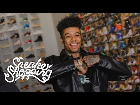 Blueface Goes Sneaker Shopping With Complex