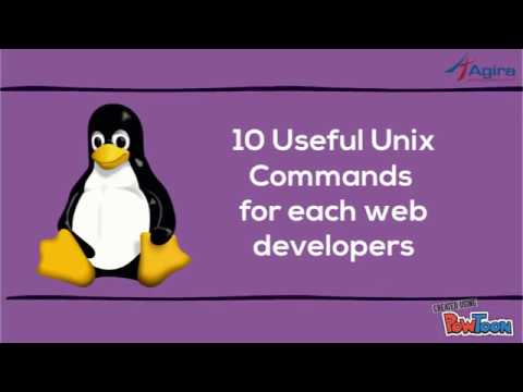 10 Useful Unix Commands for each web developers