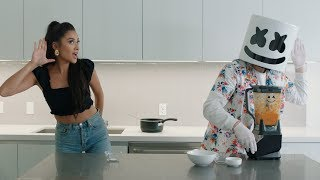 WORLD's HOTTEST SALSA 🌶️🔥(Feat. Shay Mitchell) | Cooking with Marshmello