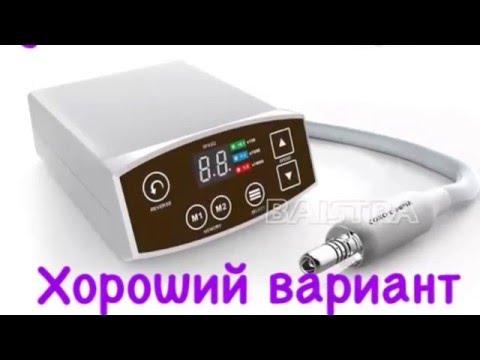 Обзор на стоматологический электомотор COXO C-PUMA LED . повыщающий наконечник .