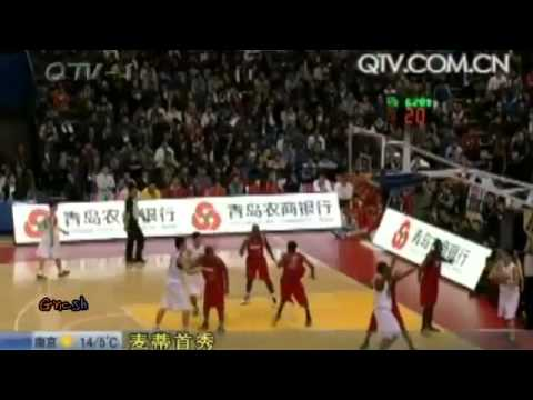 T-Mac Tracy McGrady First CBA Pre-season Game Highlights