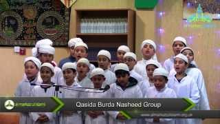 Qasida Burdah Nasheed Group - Kids Mawlid 2014