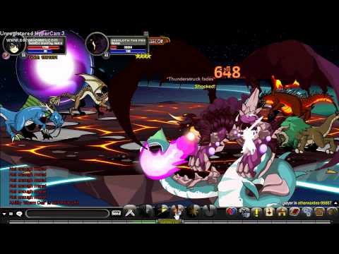 AQWorlds Dark Blood Storm King Class (solo desoloth)