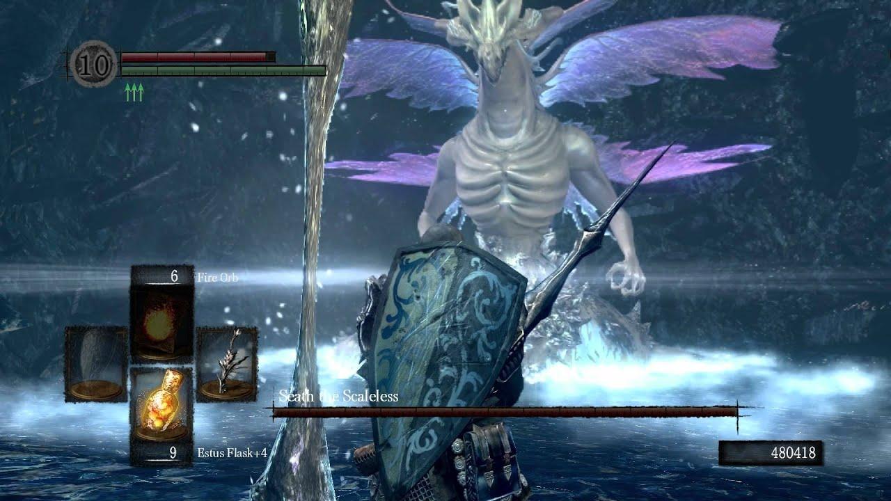 Dark Souls Seath The Scaleless YouTube