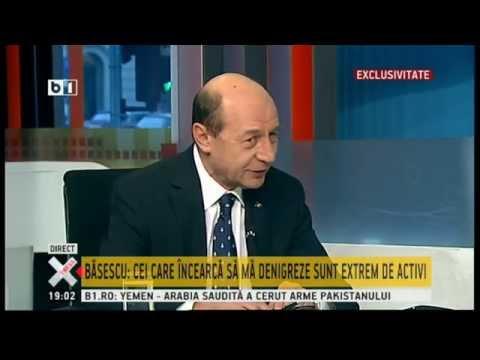 Traian Basescu despre huiduielile din fata sediului B1Tv: Oameni platiti de Voiculescu