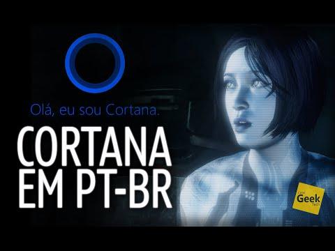 Chegou! Cortana em Português do Brasil PT-BR no Windows 10 - Microsoft Acertou em cheio!