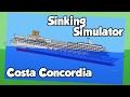 Sinking Ship Simulator - Costa Concordia and MS Estonia