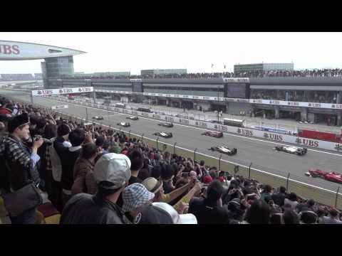 F1 2012 Chinese Grand Prix - Practice Qualifying Race footage [HD]