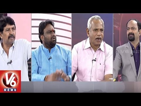 Special Debate On Twitter War Between KTR And Uttam Kumar | Good Morning Telangana | V6 News
