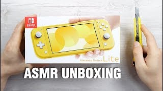 ASMR UNBOXING - NINTENDO SWITCH LITE // in 4K 60 FPS