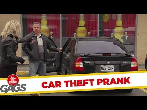 Stealing Their Own Cars Prank - Rendszámcsere
