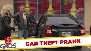 Stealing Their Own Cars Prank
