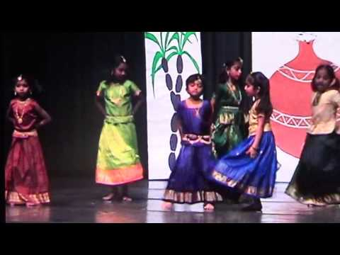 Arthy 6 Yr Old Tamil Sangam Pongal Dance. Gilli Tamil Movie Song Shaa La Laa video