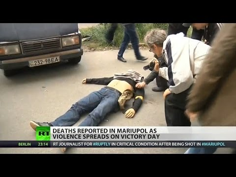 RT journalist shot on streets of Mariupol, Ukraine