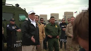 President Trump Holds Press Conference At Texas Border 1/10/19
