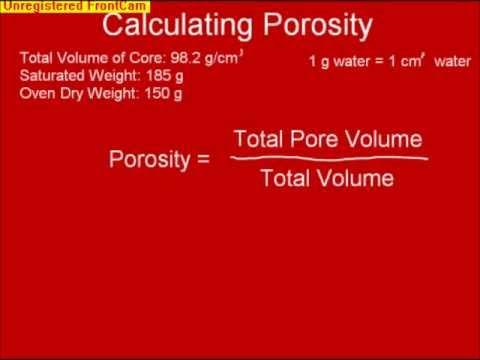 Estimates of Bulk Density and Total Pore Space