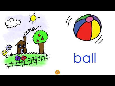Toys Vocabulary - Outside - by ELF Learning