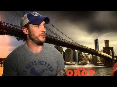 Tom Hardy and Noomi Rapace The Drop - Interview