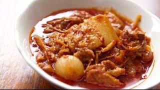 Boti Curry || INDIAN  STREET FOOD | NON VEG RECIPE IN INDIA || latest street food india 2016