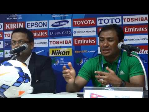 Bal Gopal Maharjan - Nepal vs Uzbekistan Post Match Conference