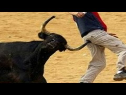 CRAZY FUNNY BULLFIGHT BLOOPERS