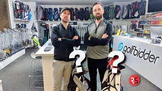 THE £500 GOLFBIDDER 2ND HAND CLUB CHALLENGE - RICK Vs PETE