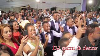 Ethiopian wedding - groom singing