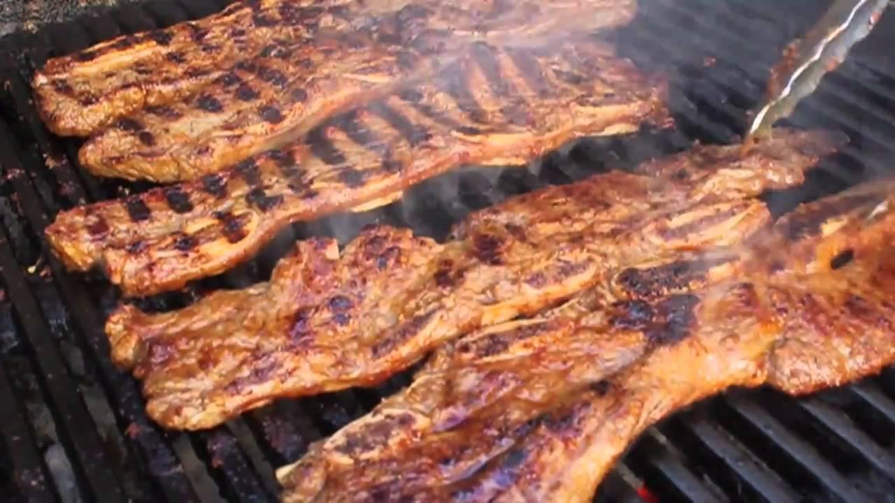Korean-Style Beef Short Ribs -- Grilled Flanken-Style Beef Short Ribs ...