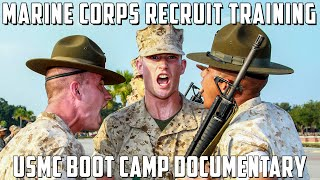 What Marine Recruits Go Through In Boot Camp - Earning The Title - Making Marines on Parris Island