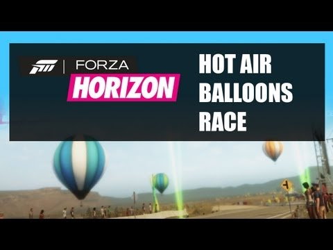 Let's Play Forza Horizon Hot Air Balloon Race Gameplay Video Showcase Events - Walkthrough Part 9