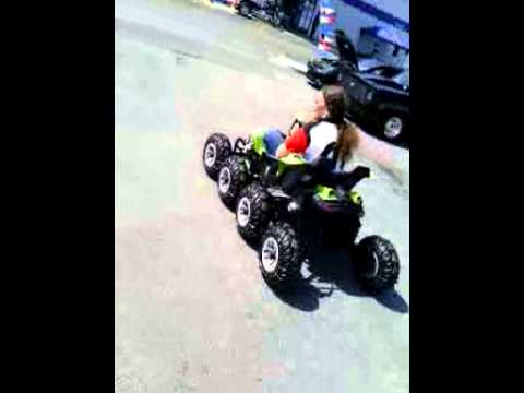 True 8x8 power wheels 24volt dune racer