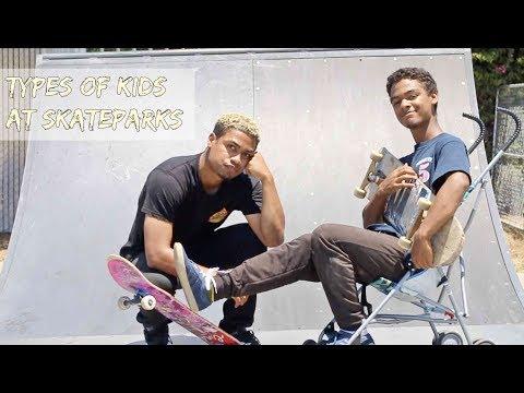Types of Kids at Skateparks