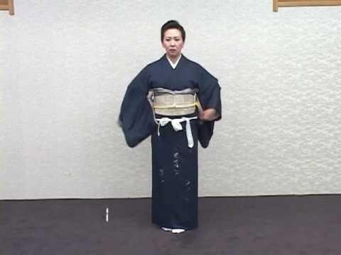 帯の締め方~ワンツー着付け・袋帯編~