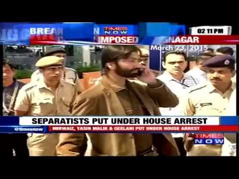 Syed Ali Geelani Detained on Gun-Point - Put Under House Arrest