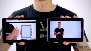 new iPad mini 7.9 vs Samsung Galaxy Tab 7.7 hands-on Comparison