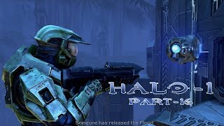 Halo Combat Evolved   Walkthrough Part - 16   343 Guilty Spark and The Library