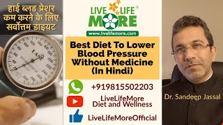 Control High Blood Pressure with Diet - Diet Tips to Lower BP Without Medicine in Hindi - Dr Sandeep