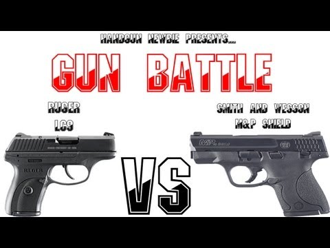 Gun Battle #1 S&W Shield vs Ruger LC9