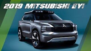 2019 Mitsubishi e-Yi PHEV SUV Concept