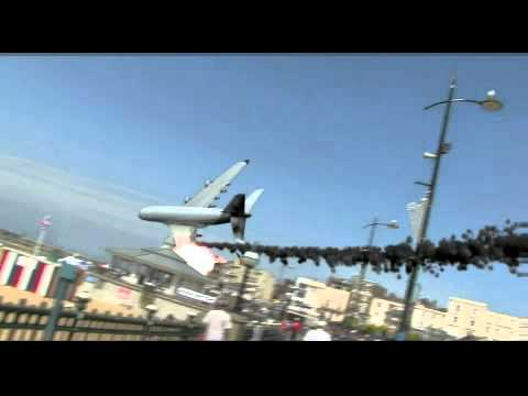 France Airbus A380 Crash Airbus A380 Crashes Into The