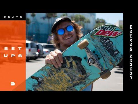 Setups: Jordan Maxham Skates Mix Matched Trucks