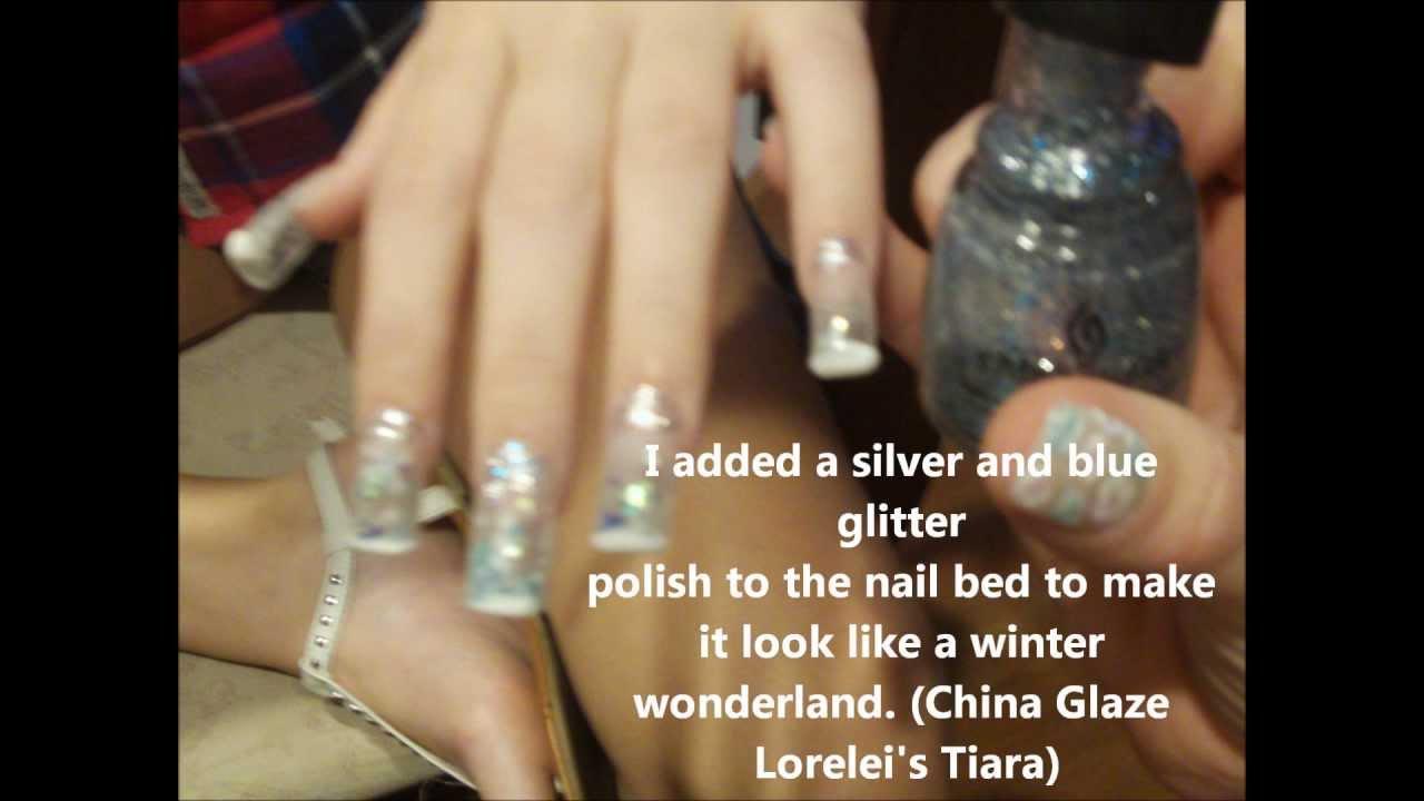 Water Globe Nails Real Snow Globe Nails