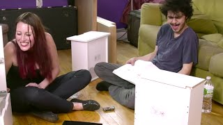 Could You Make IKEA Furniture While HIGH ON DRUGS? | What's Trending Now